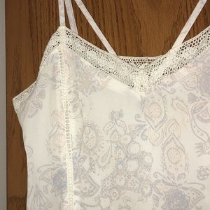 Kendall & Kylie Dresses - Kendall and Kylie white romper with lace detailing